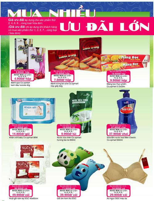Đi siêu thị Co.opmart càng mua nhiều càng có lợi - 1
