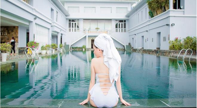 """Vợ cũ Hồ Quang Hiếu khiến cả hồ bơi """"điêu đứng"""" vì đường cong tuyệt mỹ - 3"""