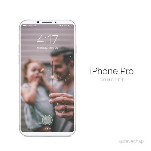 Ngây ngất trước iPhone Pro dùng cảm biến Touch ID trên màn hình - 2