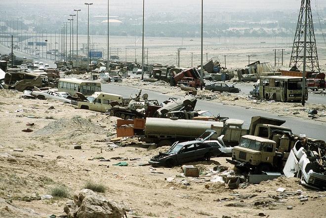 Chiến tranh vùng Vịnh: Trận càn tàn khốc ở Xa lộ Tử thần - 2
