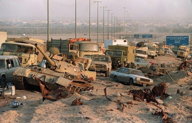 Chiến tranh vùng Vịnh: Trận càn tàn khốc ở Xa lộ Tử thần - 3