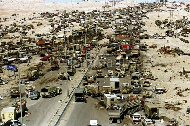 Chiến tranh vùng Vịnh: Trận càn tàn khốc ở Xa lộ Tử thần - 1