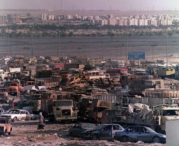 Chiến tranh vùng Vịnh: Trận càn tàn khốc ở Xa lộ Tử thần - 6