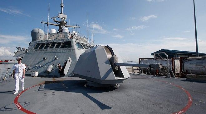 2 tàu chiến Mỹ cập cảng Qatar, chuẩn bị diễn tập quân sự - 1