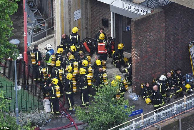 Vụ cháy nhà lớn nhất lịch sử Anh: Như thể lửa địa ngục - 7