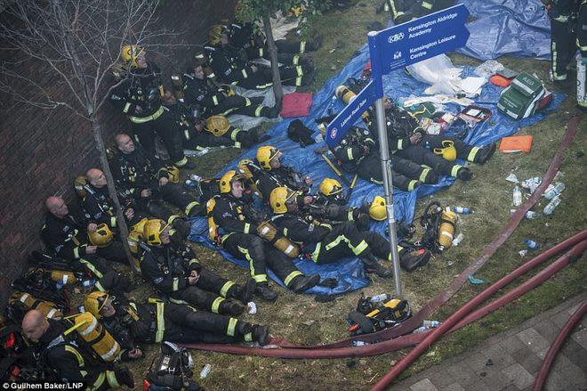Vụ cháy nhà lớn nhất lịch sử Anh: Như thể lửa địa ngục - 6