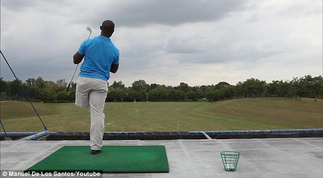 Cụt 1 chân vẫn đánh golf siêu đẳng, dự giải cao thủ - 3