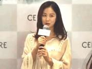 Kim Tae Hee lần đầu lộ diện sau khi bầu bí, lấn át dàn sao trẻ