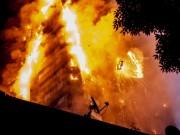 Thế giới - Người mẹ ném con từ tầng cao khỏi vụ cháy London