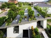"""Tài chính - Bất động sản - Lợp """"ruộng bậc thang"""" lên mái, ngôi nhà Việt được báo Tây khen hết lời"""