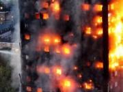 Thế giới - Phát trực tiếp video từ trong tòa nhà cháy kinh dị ở Anh