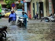 Tin tức trong ngày - Mưa lớn kéo dài, miền Bắc nguy cơ ngập lụt nhiều nơi