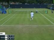 Thể thao - Tennis: Ngã sấp mặt vẫn ghi điểm kinh điển như Nadal
