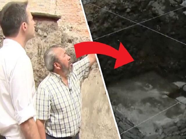 Phát hiện 675 sọ người xếp thành tháp ở Mexico - 7