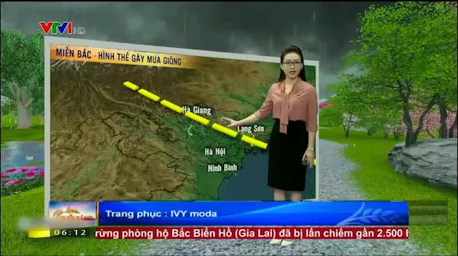 Dự báo thời tiết VTV 16.6: Bắc Bộ mưa về chiều, Nam Bộ nắng nóng trở lại