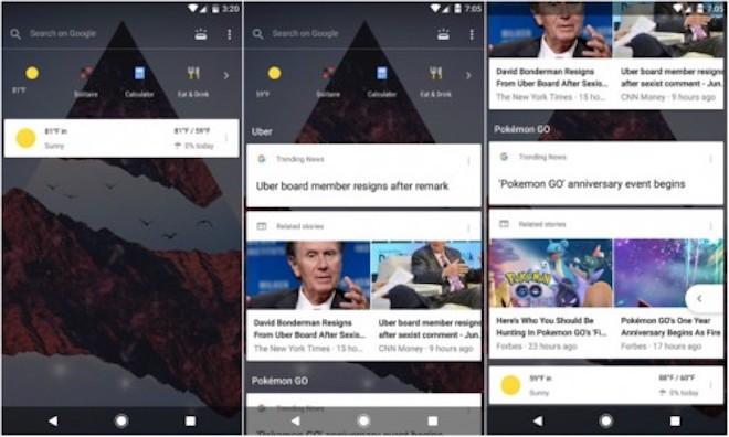 Google Now sắp có giao diện trong suốt hoàn toàn mới - 1