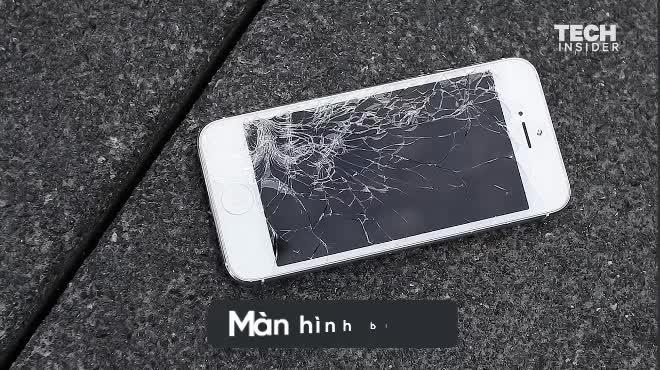 Apple đã sửa chữa màn hình iPhone vỡ thế nào?