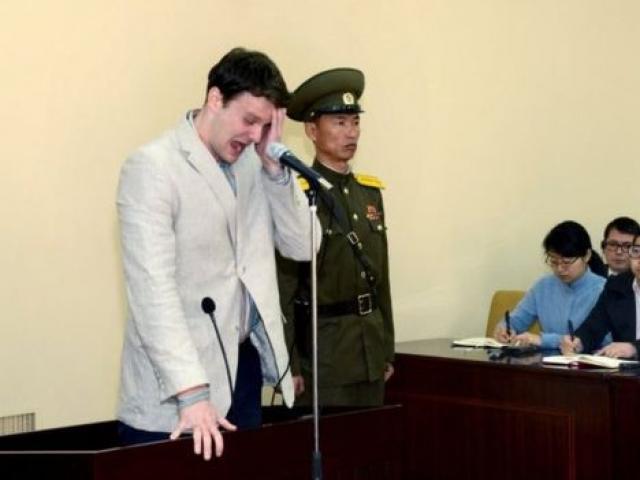 """Sinh viên Mỹ được Triều Tiên thả bị """"mất nhiều mô não"""""""