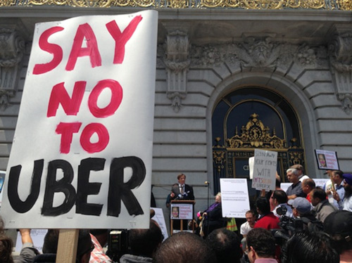 Uber trở thành bài học cảnh giác cho các startup - 1