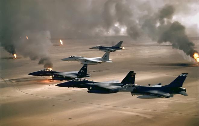 Chiến tranh vùng Vịnh: Trận tăng kinh hoàng với quân Iraq - 2