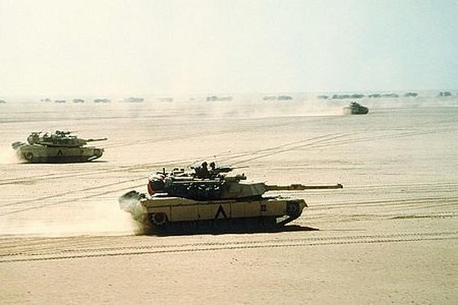 Chiến tranh vùng Vịnh: Trận tăng kinh hoàng với quân Iraq - 3