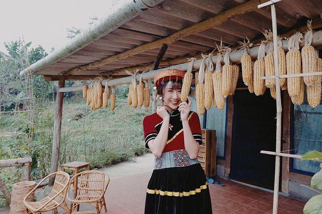 Người yêu tin đồn Noo Phước Thịnh hóa mỹ nữ vùng cao - 2