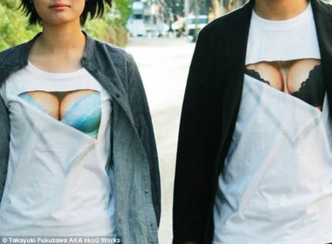 Chết cười với áo sống ảo dành cho cô nàng ngực lép - 11