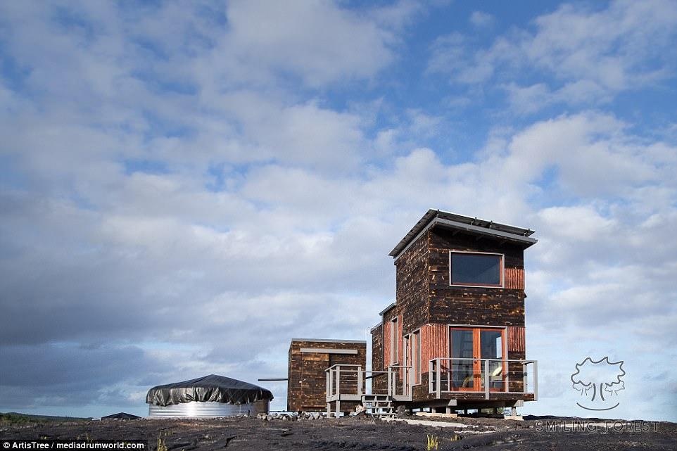 Ai đủ dũng cảm để ngủ lại ngôi nhà dưới chân núi lửa này? - 6