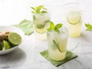Mojito chanh bạc hà - thức uống tuyệt vời cho mùa hè