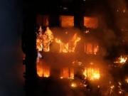 Thế giới - Vụ cháy kinh dị ở Anh: Nhiều nạn nhân không còn dấu vết