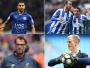 Bóng đá - Ngoại hạng Anh mùa giải mới: Joe Hart đấu MU, Mahrez chào Arsenal