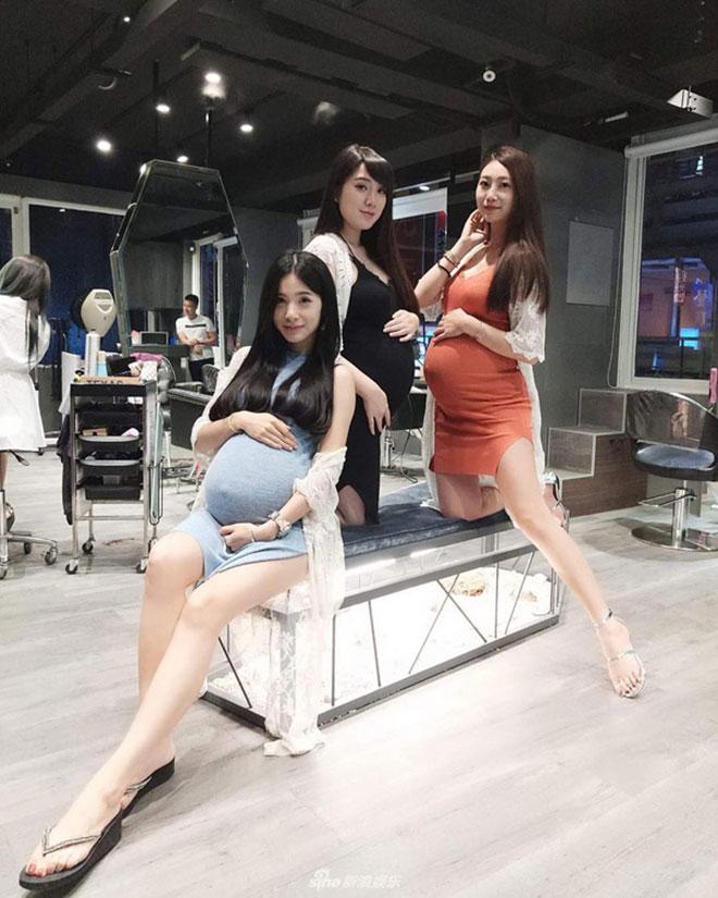 Phát sốt với 4 cô nàng xinh đẹp khoe bụng bầu sexy - 5