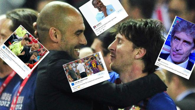 Điên rồ: Messi bỏ Barca, đấu Ronaldo ở derby Manchester - 2