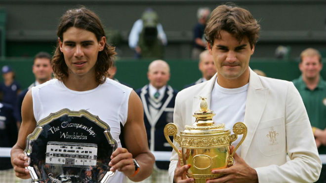 "Federer - Nadal: Trận chiến thế kỷ ""Messi - Ronaldo"" ở Wimbledon - 2"