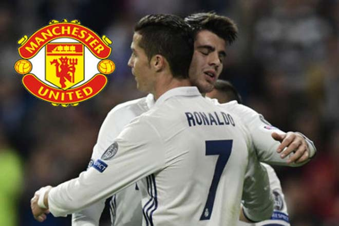 MU mua Ronaldo & Morata gần 200 triệu bảng: Thương vụ có 1 không 2 lịch sử