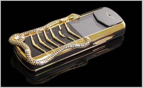 Top 10 smartphone đính kim cương, mạ vàng đắt đỏ nhất hành tinh - 5