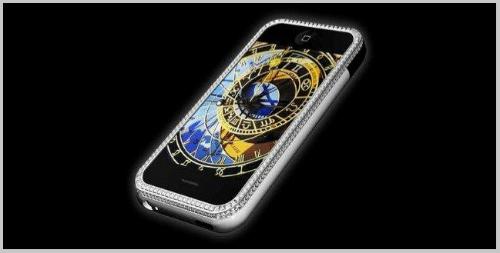 Top 10 smartphone đính kim cương, mạ vàng đắt đỏ nhất hành tinh - 7