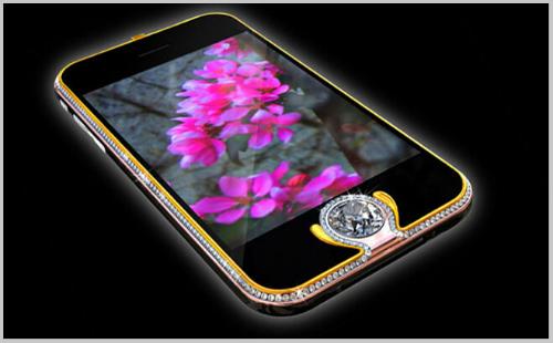 Top 10 smartphone đính kim cương, mạ vàng đắt đỏ nhất hành tinh - 3