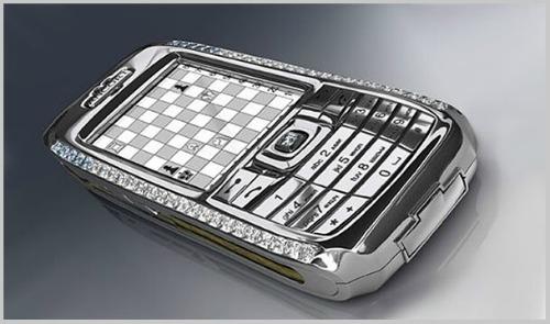Top 10 smartphone đính kim cương, mạ vàng đắt đỏ nhất hành tinh - 9