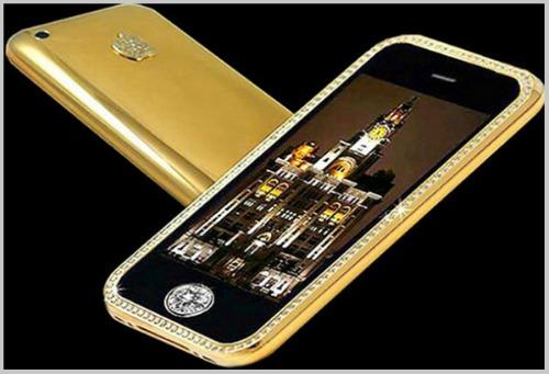 Top 10 smartphone đính kim cương, mạ vàng đắt đỏ nhất hành tinh - 2