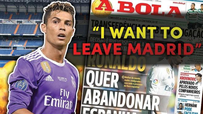 Thuyết âm mưu: Real giữ Ronaldo để... trị tội nổi loạn - ảnh 1