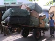Thị trường - Tiêu dùng - Phát hiện 10 tấn hàng lậu trên tàu hỏa