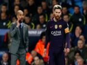 Bóng đá - Khó tin: Messi bỏ Barca, đấu Ronaldo ở derby Manchester