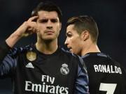 Chuyển nhượng Real: Morata phải ở lại nếu Ronaldo ra đi