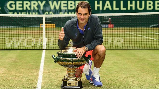 Tennis 24/7: Federer hẹn đấu Nishikori ở bán kết Halle - ảnh 1