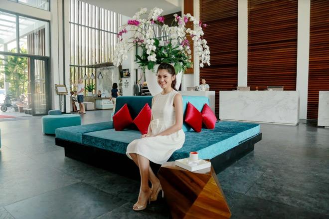 Theo chân Á hậu Thùy Dung trải nghiệm mùa hè tại Sunrise Premium Resort & Spa Hội An - 2