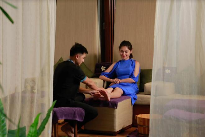 Theo chân Á hậu Thùy Dung trải nghiệm mùa hè tại Sunrise Premium Resort & Spa Hội An - 4