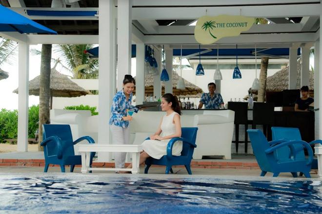 Theo chân Á hậu Thùy Dung trải nghiệm mùa hè tại Sunrise Premium Resort & Spa Hội An - 5