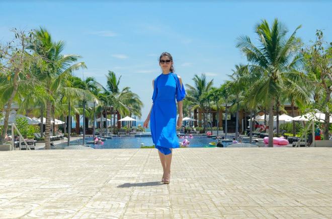 Theo chân Á hậu Thùy Dung trải nghiệm mùa hè tại Sunrise Premium Resort & Spa Hội An - 8