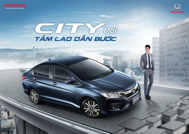 Honda City 2017 tại Việt Nam có giá từ 568 triệu đồng.